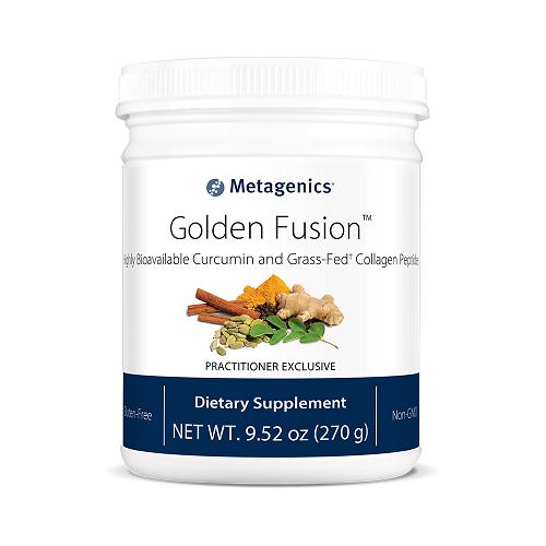Golden Fusion | Metagenics | Curcumin - Golden Milk, 30 Servings