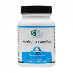 Methyl B Complex | Ortho Molecular Products | 60 Capsules, homocysteine, methylation, b-complex vitamins