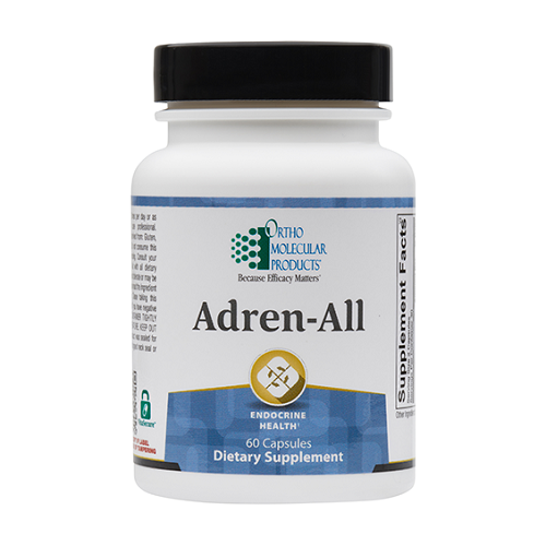 Adren-All | Ortho Molecular Products | HPA Axis - Stress, 60 Caps