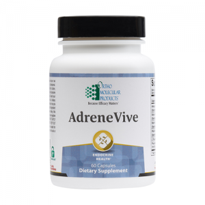 AdreneVive | Ortho Molecular Products | Stress - HPA Axis, 60 Caps, adaptogenic botanicals