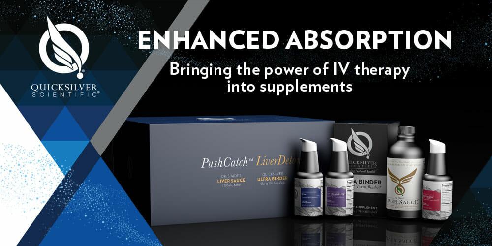 quicksilver scientific, enhanced absorption