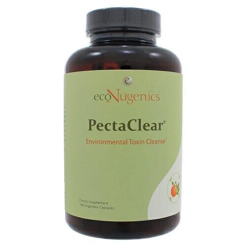 PectaClear | EcoNugenics | Citrus Pectin - Alginate - Detox, 180 Capsules