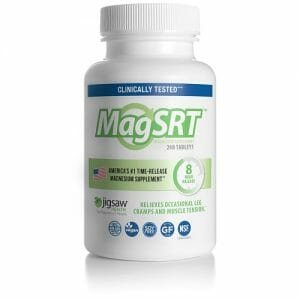 MagSRT | Jigsaw Health | Sustained Release Magnesium, 240 Capsules
