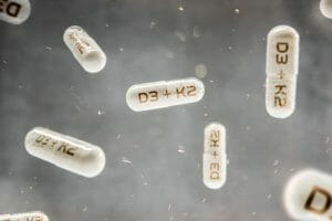 vitamin k2, vitamin d3, d3 and k2, pills, capsules, supplements