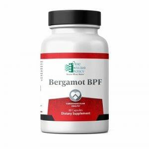 Bergamot BPF | Ortho Molecular Products | Antioxidant - Cardio, 60 Caps