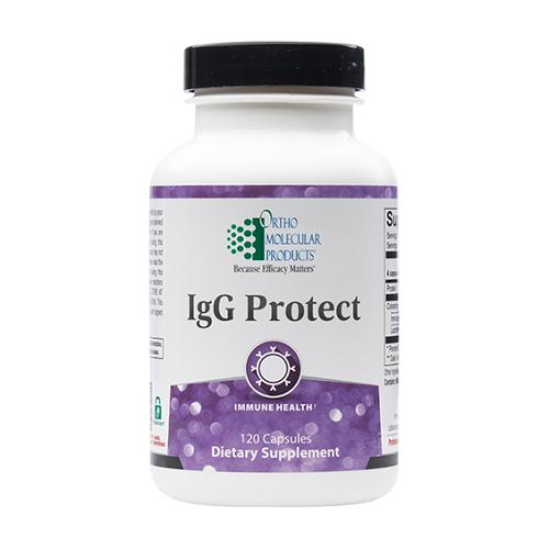 Ortho Molecular Products IgG Protect, immunoglobulin G, lactoferrin
