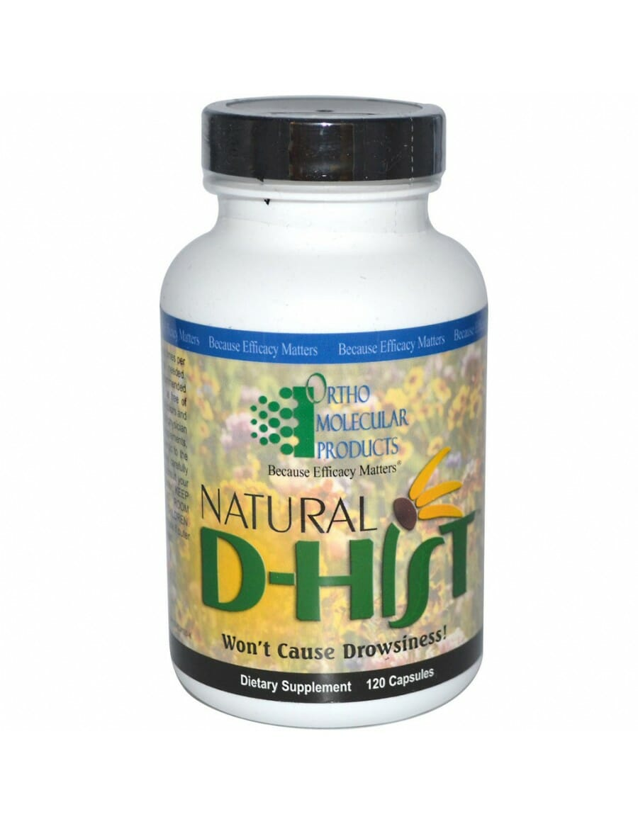 DR Vitamin Solutions now stocks Ortho Molecular Products Natural D-Hist in the Supplement Store in 2019