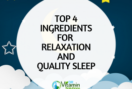 Discover the top 4 supplements for relaxation and quality sleep, lipocalm
