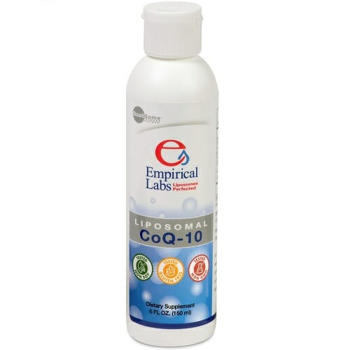 Liposomal CoQ10 | Empirical Labs | Enhanced Bioavailability, 6 oz. Liquid