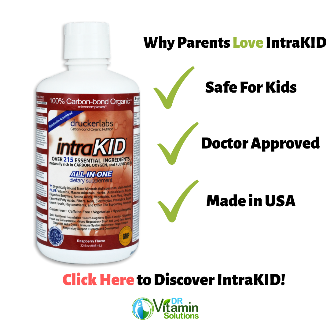 IntraKID is the Best Liquid Vitamin Toddlers because it is doctor approved and made in usa