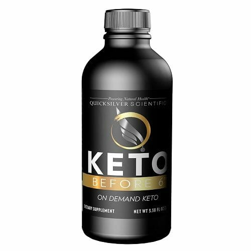 Quicksilver Scientific Keto Before 6, 100 ml