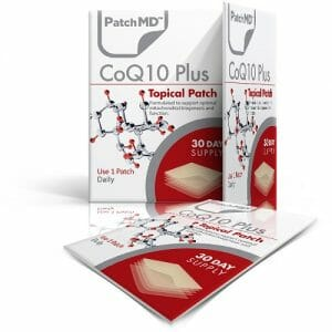 CoQ10 Plus Topical Patch | PatchMD | Ultra Bioavailable, 30 Patches, PatchMD CoQ10 Plus Topical Patches