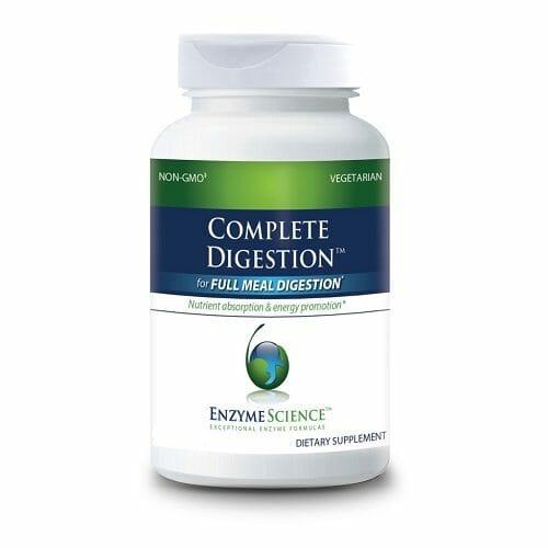 Enzyme Sciences Complete Digestion, Plant-Based Enzymes & Probiotics, 90 Vegetable Capsules