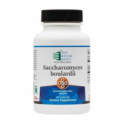 Ortho Molecular Products Saccharomyces Boulardii, 60 Capsules, yeast, probiotic, immune, digestion, gastrointestinal