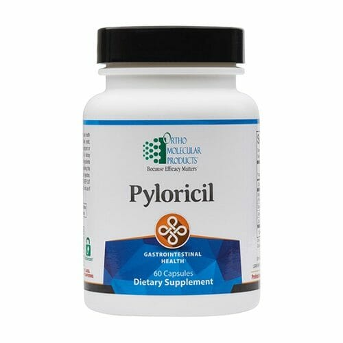 Ortho Molecular Products Pyloricil, GI & Immune Health Support, 60 Capsules