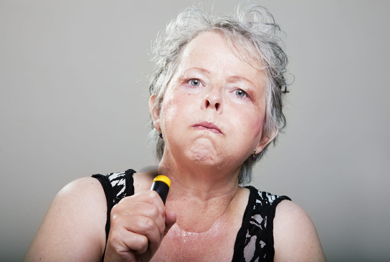 estrogen at high levels can cause hot flashes