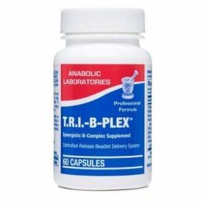 Anabolic Laboratories Tri B-Plex, Controlled-Release B-Complex Vitamins, 120 Capsules