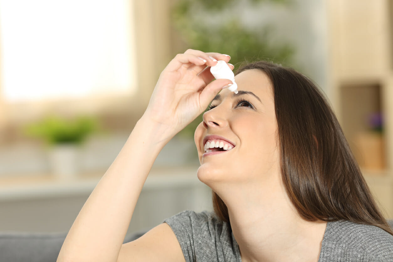 Expired eye drops recommendation