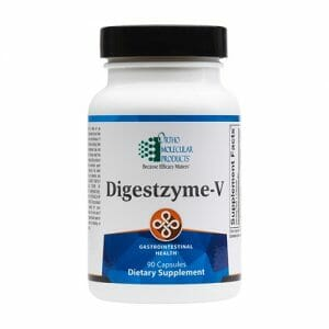 Digestzyme-V | Ortho Molecular Products | Plant-Based Enzymes, 90 Caps