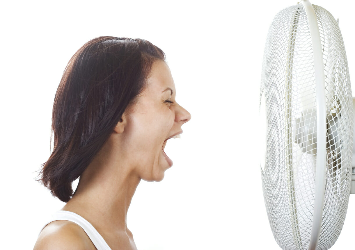 can too much estrogen cause brutal hot flashes