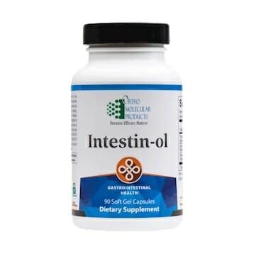 Intestin-Ol | Ortho Molecular Products | GI Support, 90 Softgels, essential oils, gastrointestinal