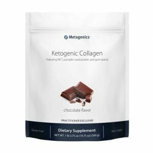 Ketogenic Collagen | Metagenics | Multiple Flavors, 14 Servings
