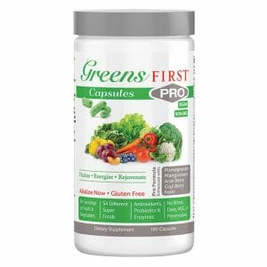 Greens First PRO | 54 Plant-Based Ingredients, 180 Capsules, greens, herbs, roots, antioxidants, fiber