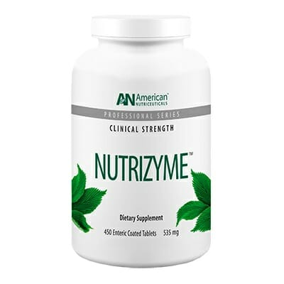 American Nutriceuticals Nutrizyme, Proteolytic Enzyme Formula, 450 Tablets