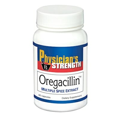 Oregacillin | Physician's Strength | Mountain-Grown Oregano, 90 Caps