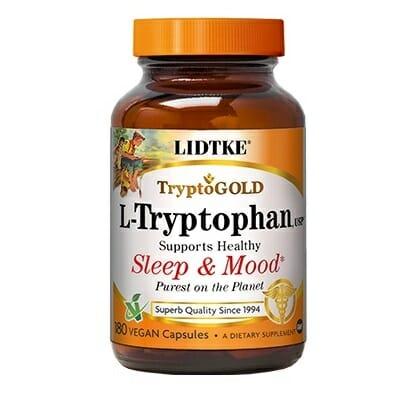 Lidtke Tryptogold, L-Tryptophan, 500 mg, 180 Capsules