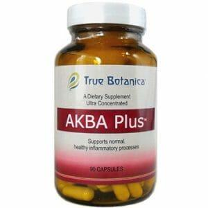 AKBA Plus | True Botanica | Boswellia Serrata, Inflammation, 90 Caps, Boswellic Acids, Boswellia Serrata