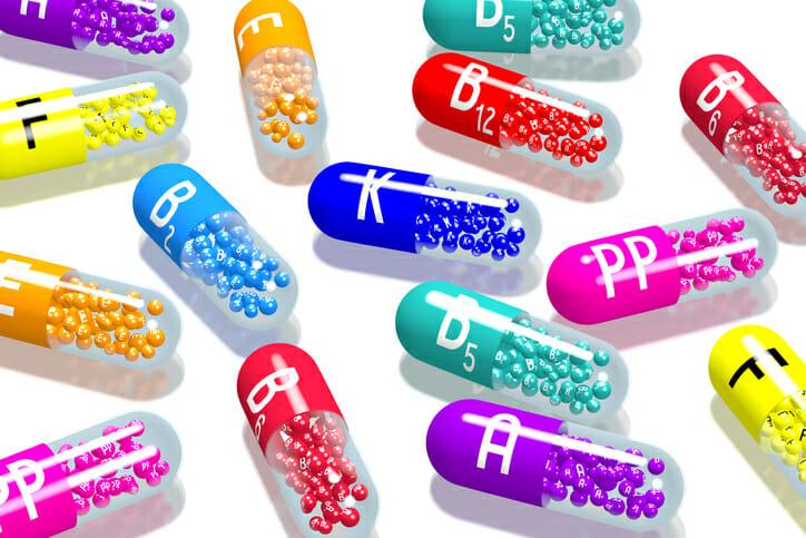 vitamins, vitamin k, vitamin e, vitamin b12