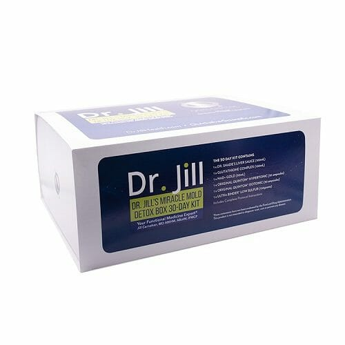 Quicksilver Scientific Dr. Jill's Miracle Mold Detox Box