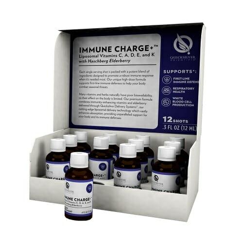 immune charge+, immune charge, quicksilver scientific