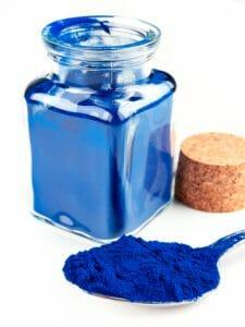 Phycocyanin, spirulina, blue pigment, algae