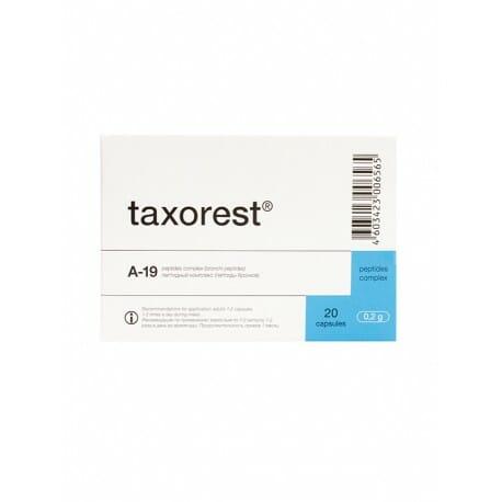 Taxorest | Natural Peptide Bioregulator | Bronchial Peptides, 20 Capsules