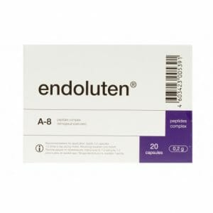 Endoluten | Natural Peptide Bioregulator | Pineal Gland Peptides, 20 Caps