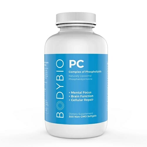 BodyBio PC (Phosphatidylcholine)   Choline, Softgels or Liquid