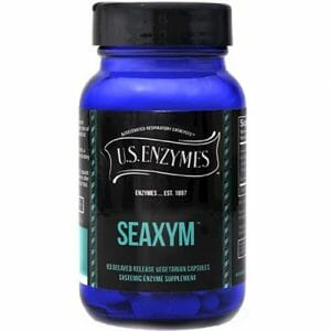 U.S. Enzymes Seaxym DR | Seaprose S and Catalase, 93 Caps