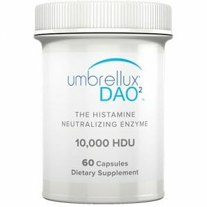 Umbrellux DAO2 | Diem | DAO, Histamine Regulation, 60 Caps