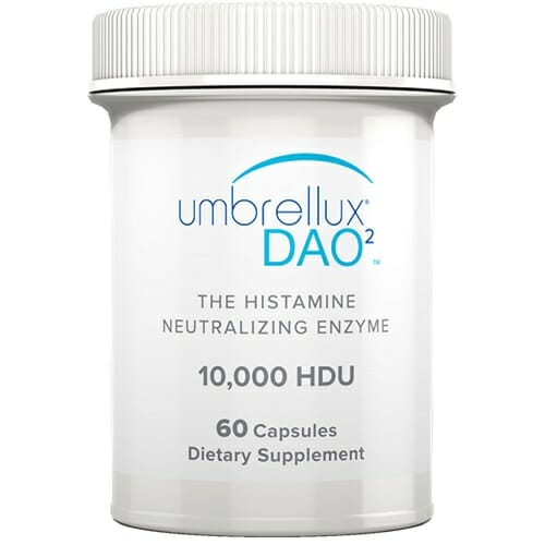Umbrellux DAO2   Diem   DAO, Histamine Regulation, 60 Caps