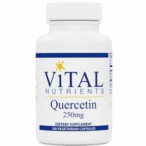 Vital Nutrients Quercetin | 250 mg, 100 Vegetarian Capsules
