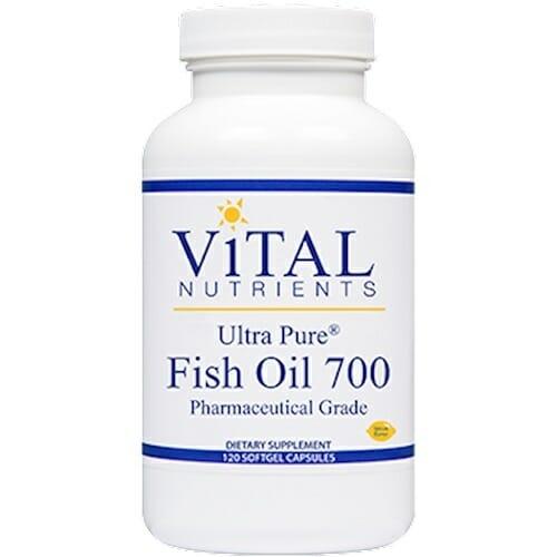 Vital Nutrients Ultra Pure Fish Oil 700 | EPA & DHA, 120 Softgels