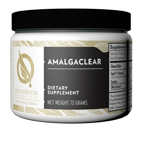 Quicksilver Scientific AmalgaClear | Dental Amalgam Detox, 73 g