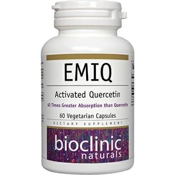 Bioclinic Naturals EMIQ | Activated Quercetin, 60 Vegetarian Capsules