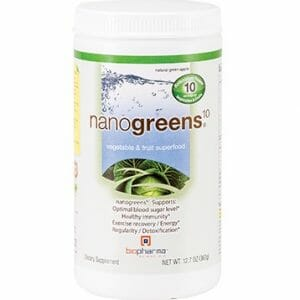 BioPharma Scientific NanoGreens 10 | Green Apple, 12.7 oz