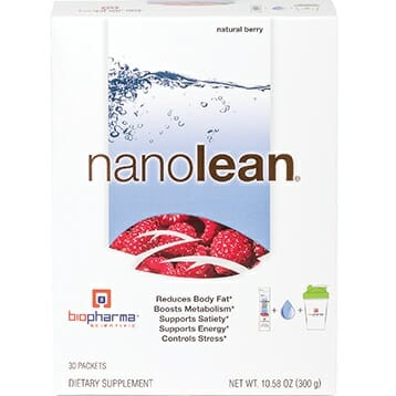 BioPharma Scientific NanoLean | Berry Flavored, 30 Packets
