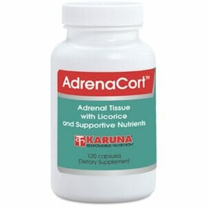 Karuna AdrenaCort | Adrenal Gland Support, 120 caps