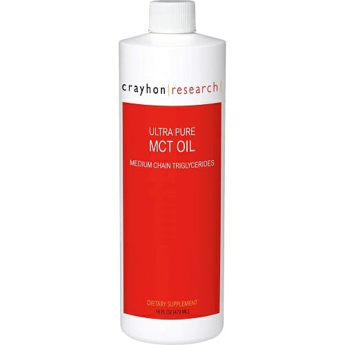 Crayhon Research Ultra Pure MCT Oil