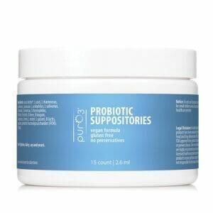 PurO3 Probiotic Suppositories | Multi-Strain Combination with Cocoa Butter